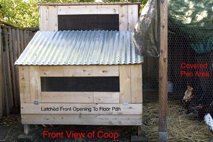 - Coop Front View PlanterTomato.com