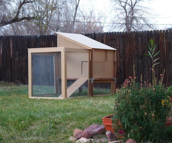 Modern coop design stylish estate for your backyard flock for Modern chicken coop