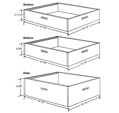 Hive Body Comparisons