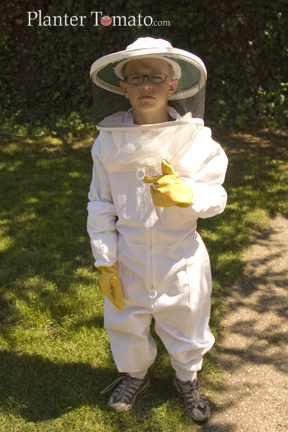 Young Bee Keeper