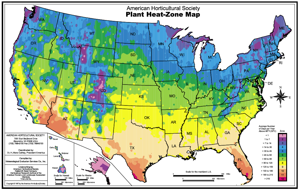 Hardiness Zones Systems & Plant Selection - PlanterTomato Vegetable ...